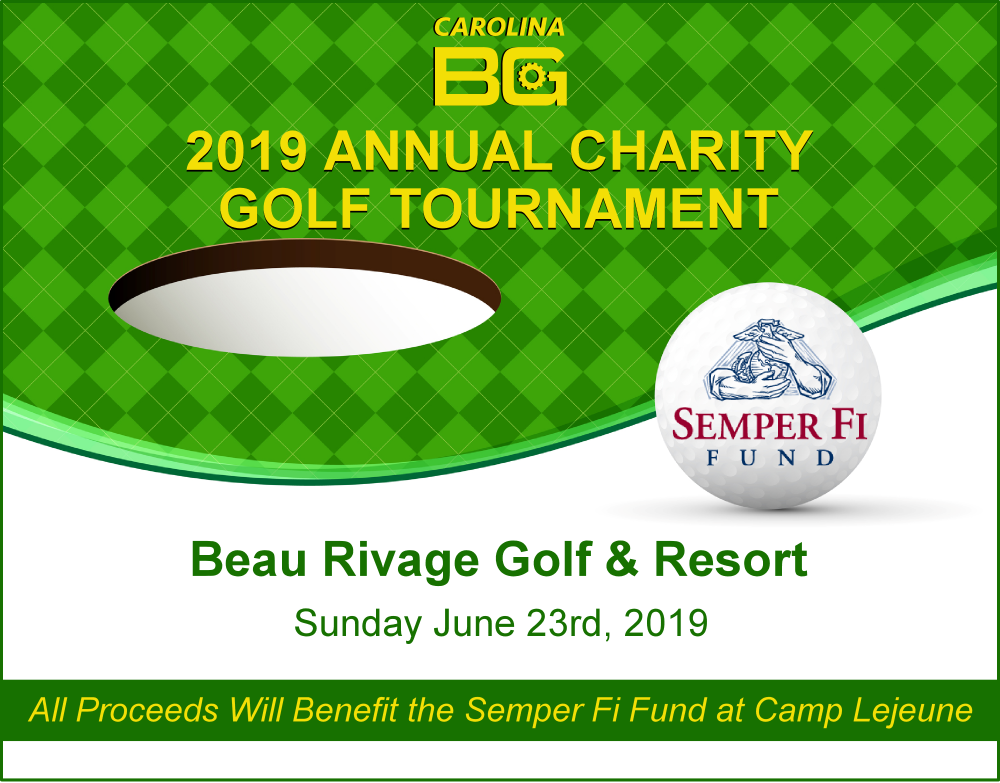 carolina bg 2019 charity golf tournament