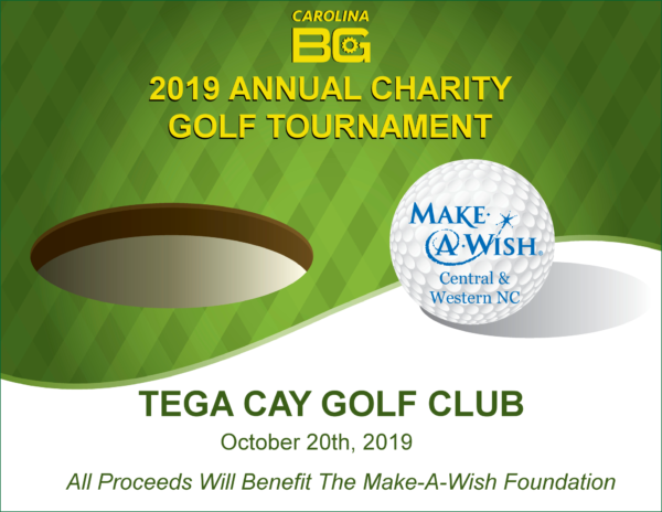 charity golf tournament tega cay south carolina